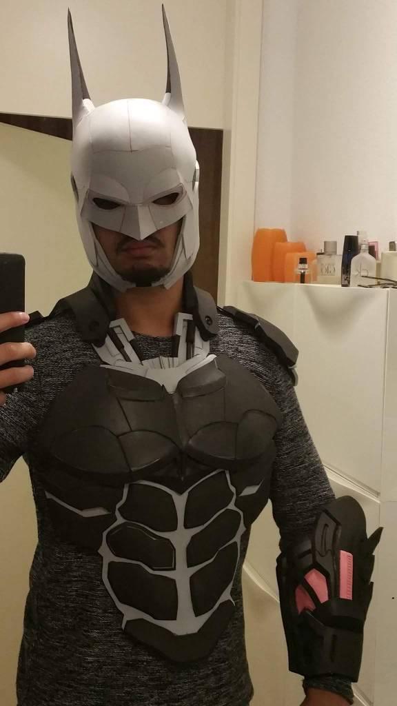 Arkham Knight Batman Cowl Pep help | RPF Costume and Prop