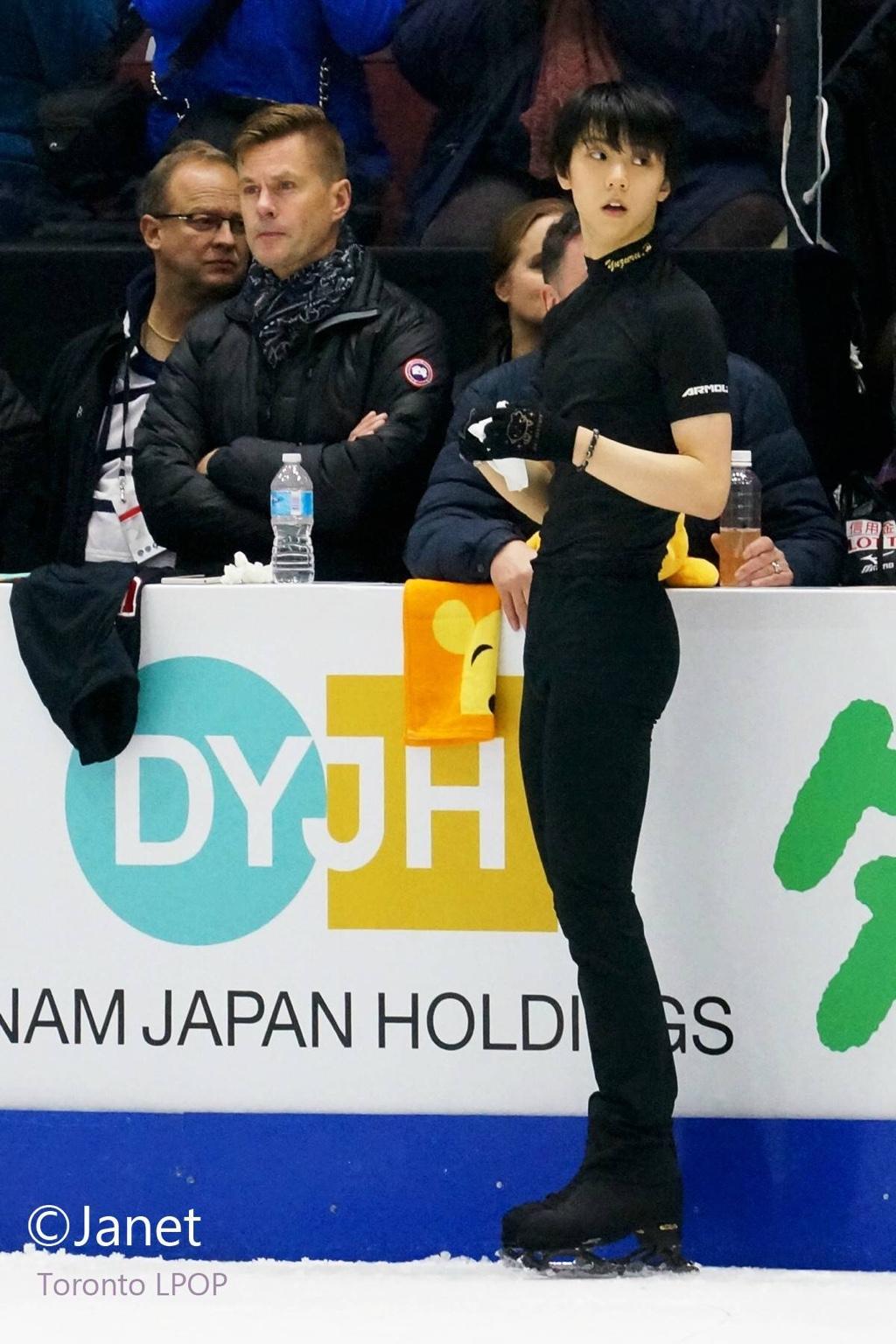 Yuzuru Hanyu Pyeongchang Olympic Memorial Skating 2019 Calendar 2-side Be