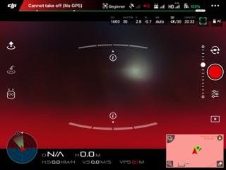 DJI NO-GPS ile ilgili görsel sonucu