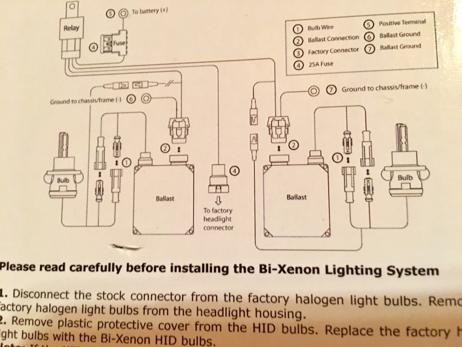 Xenon Vision Hid Wiring Diagram Philips Bi Conversion Kit Visions Plug N Play Install And On