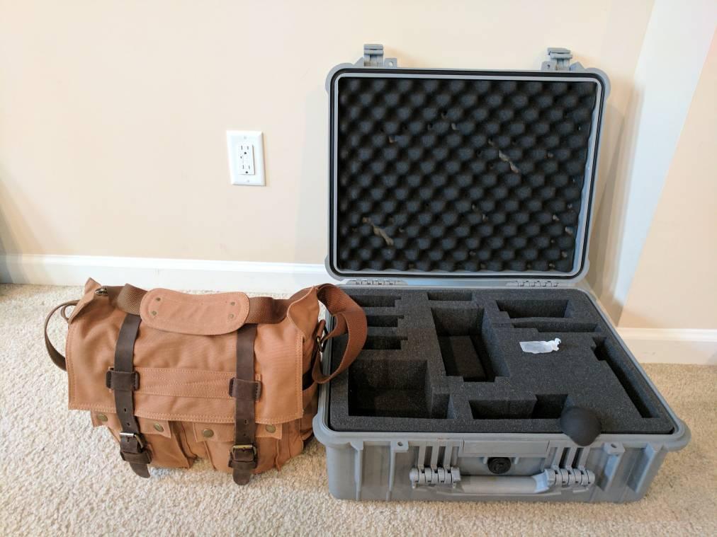 DJI Mavic 2 Pro Drone Case Decal  for Nanuk Pelican GoProfessional GPC /& More