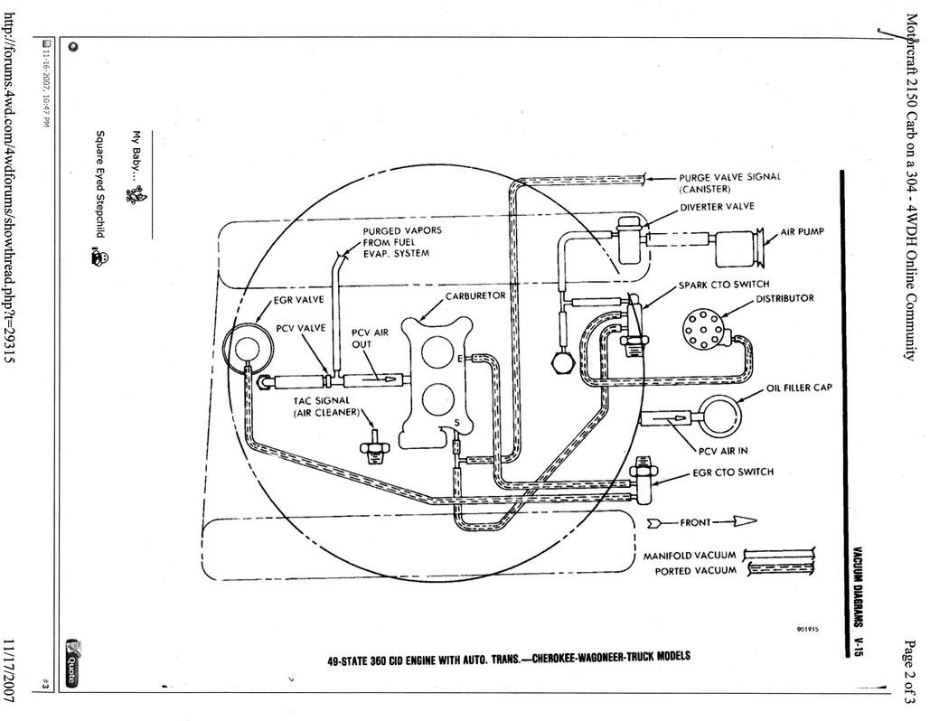 1979 Amc 304 Rough Idle Jeep Cj Forums 360 Engine Diagram This Image Has Been Resized Click Bar To View The Full Original Is Sized 1029x798