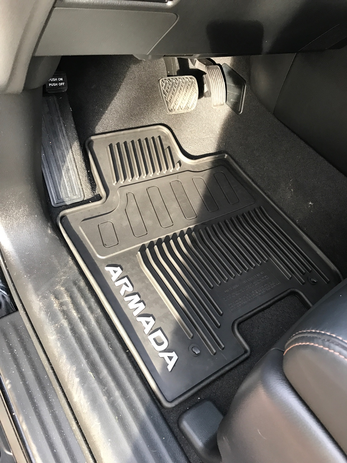 Got The OEM Floor Mats. They Have The Feel Of Huskys Floor Mats. $135 For  All. 1st, 2nd, And 3rd Row.