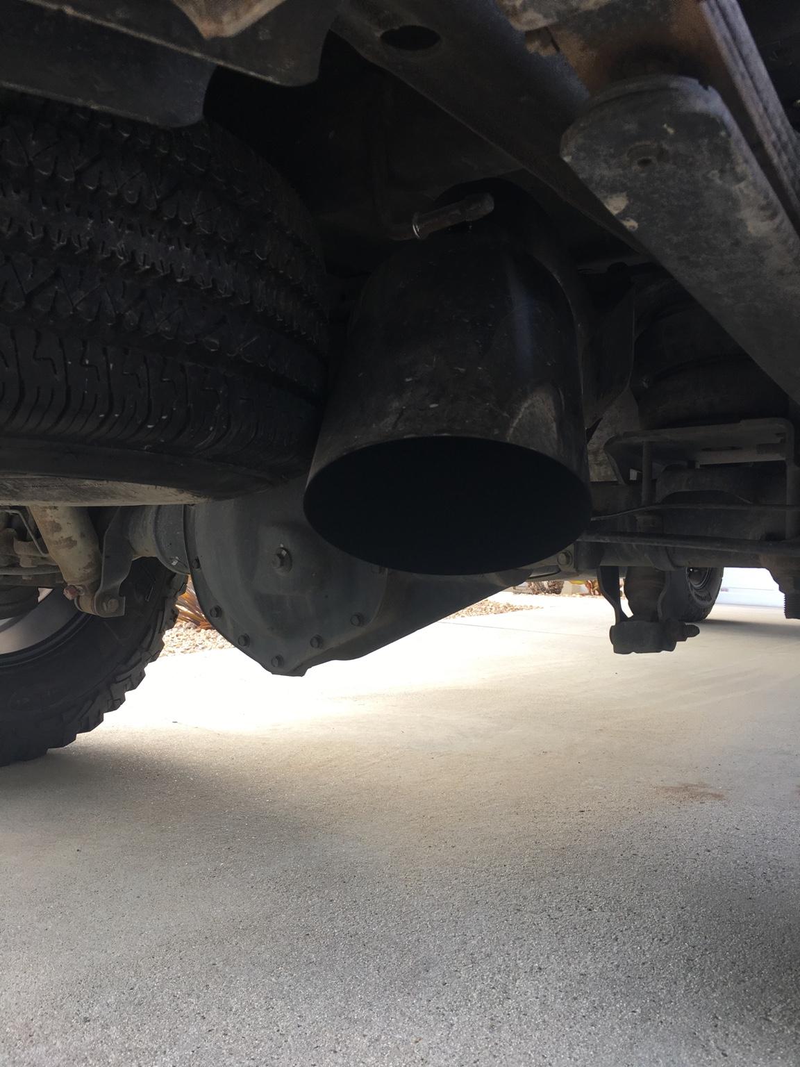 2016 Gmc Sierra 2500Hd Crew Cab >> 8 inch tip, over axle dump, stock spare tire - Chevy and GMC Duramax Diesel Forum