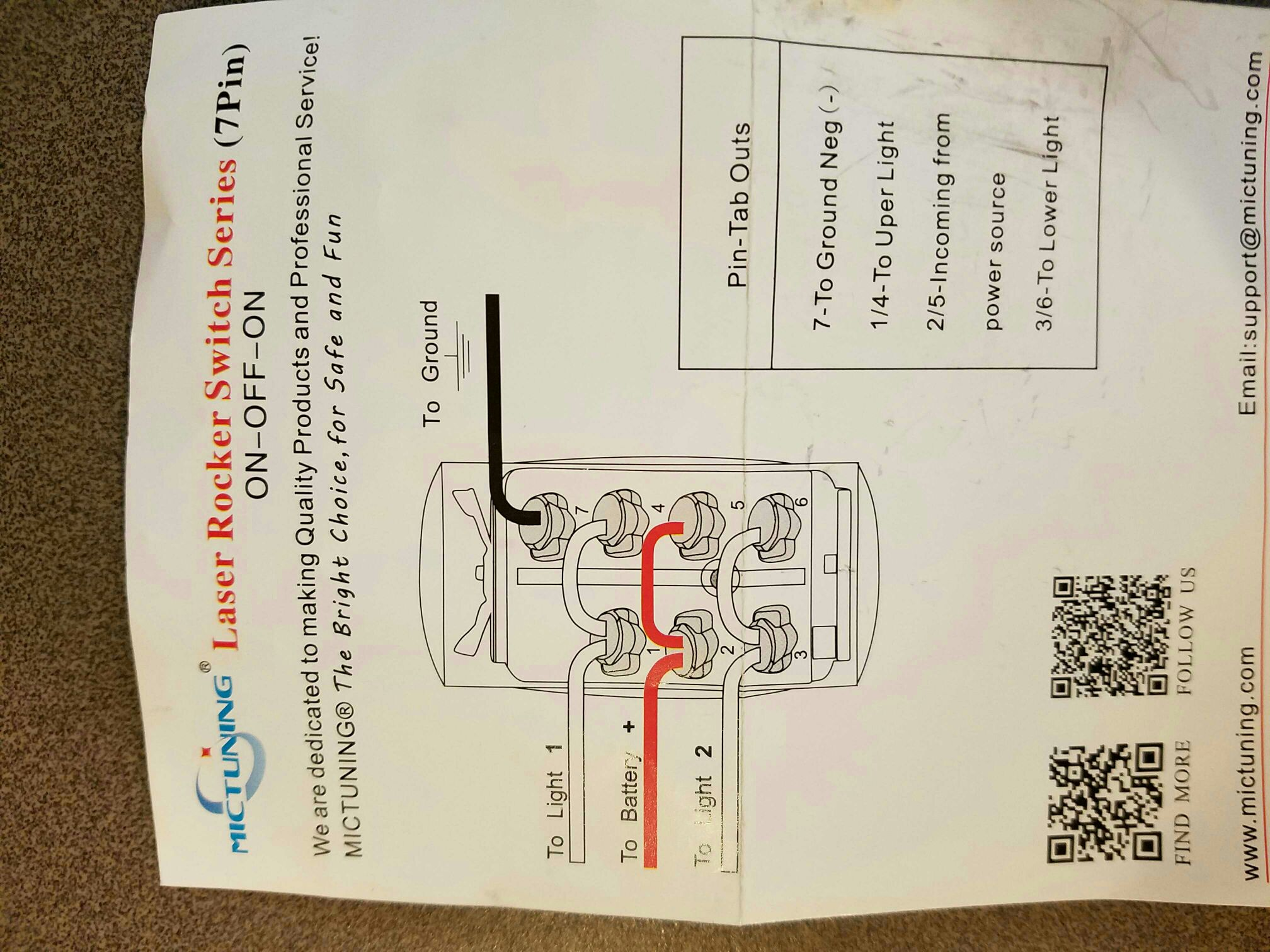 Factory Winch Switchhelp Can Am Commander Forum Light With 3 Wire Rocker Switch Wiring Diagram And Here Is The They Sent Me