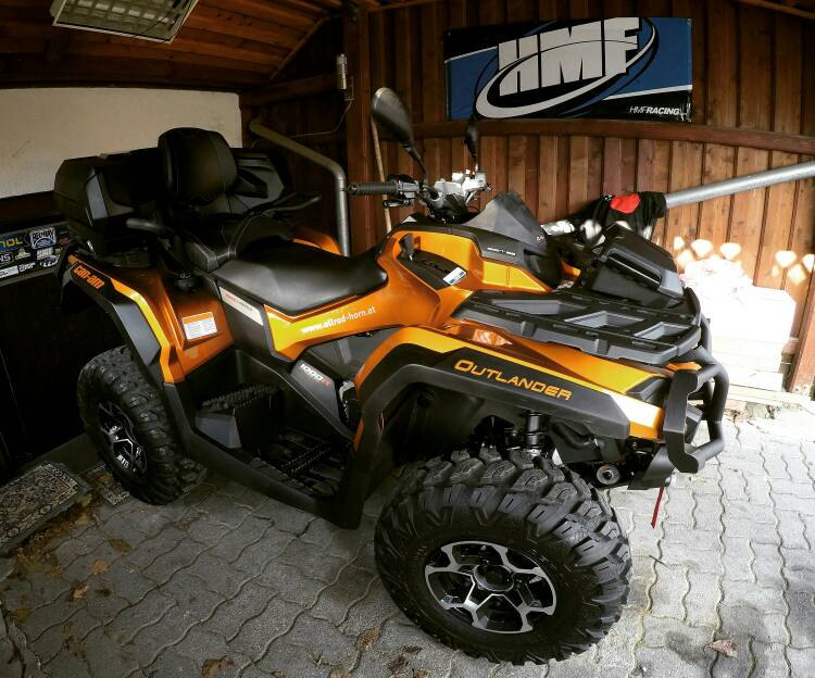 Can am Outlander 1000 Owners manual vs 850