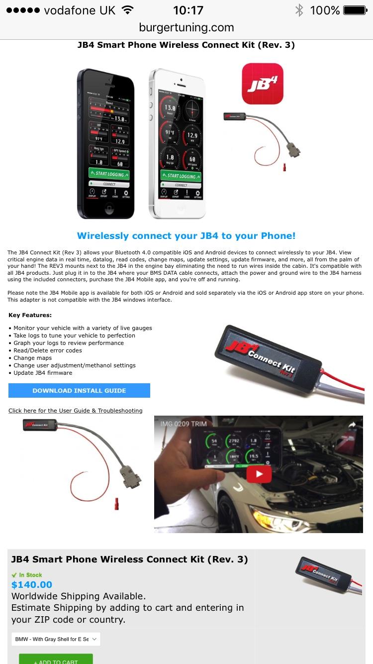 Burger Tuning JB4 information thread - Modifying your Golf R MK7