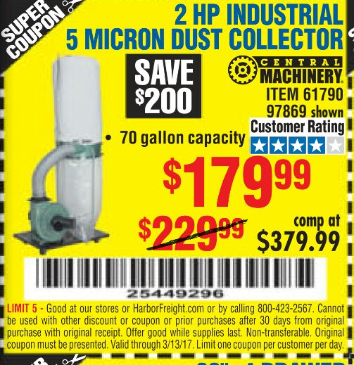 Harbor Freight Coupon Thread Page 453 The Garage Journal Board