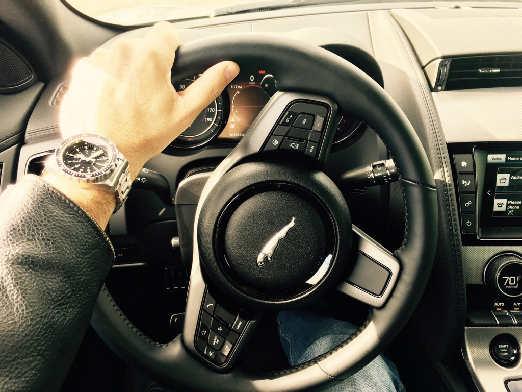 Lets See Your Hands On Steering Wheel Watch Pic Page 275 Watchuseek Watch Forums