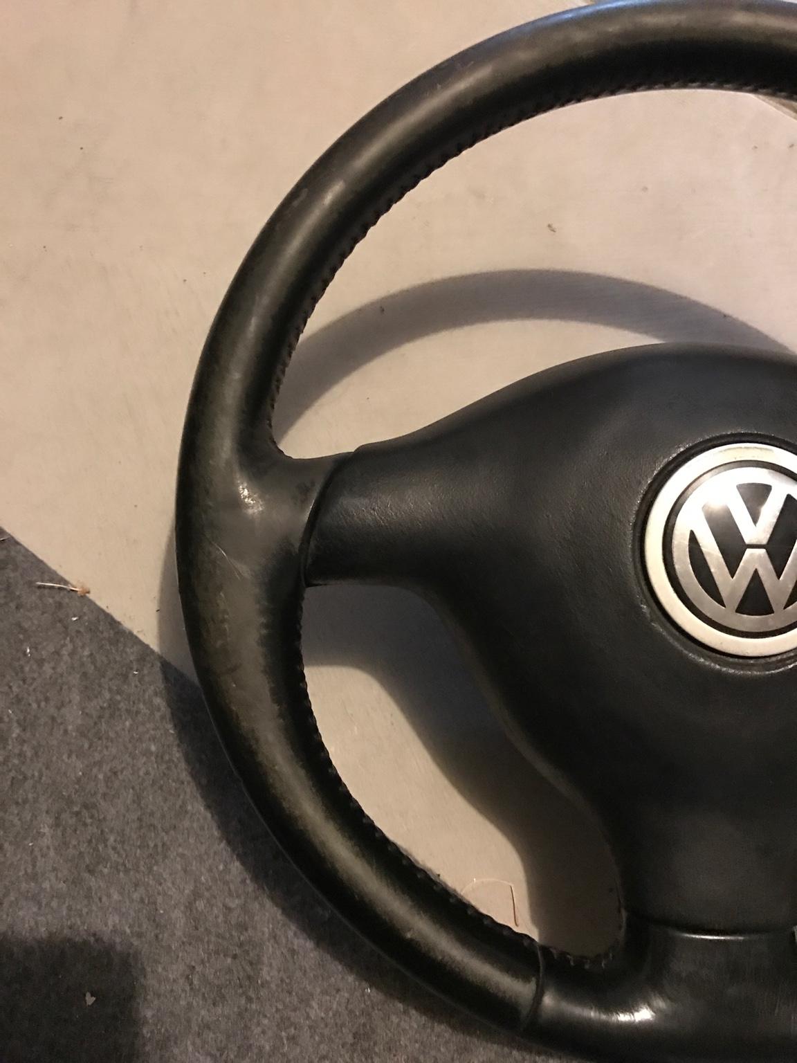 VWVortex com - FS: Three spoke steering wheel, radio cage
