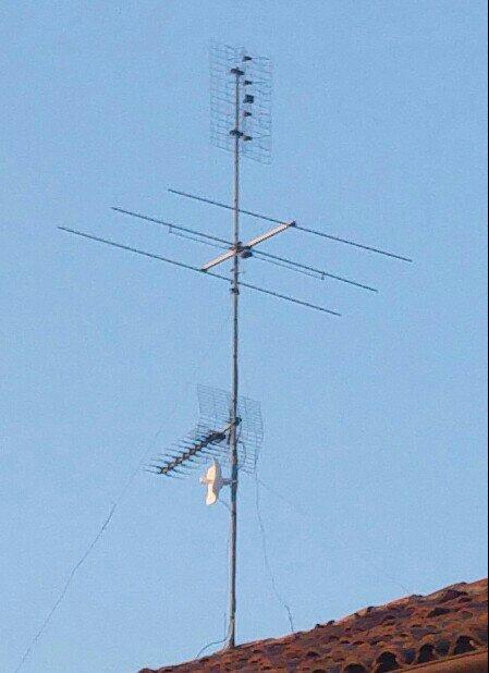 Risultati immagini per antenna banda prima penice