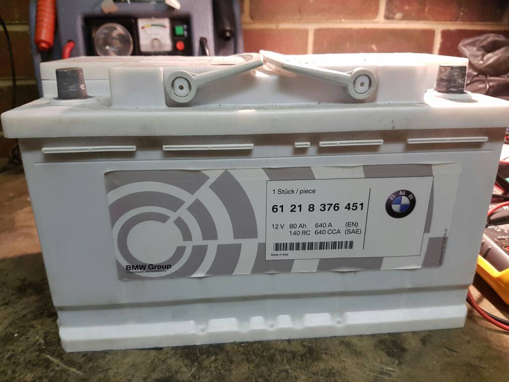 battery for bmw e60 530i 2008