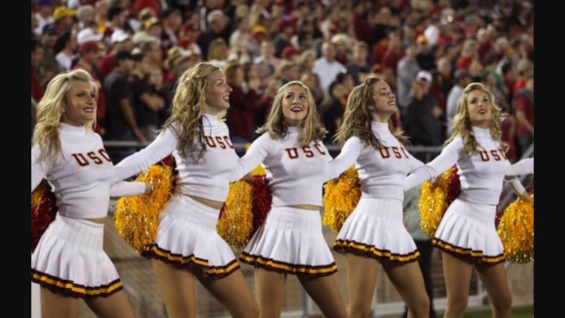 Warm Nude Usc Cheerleaders Pictures