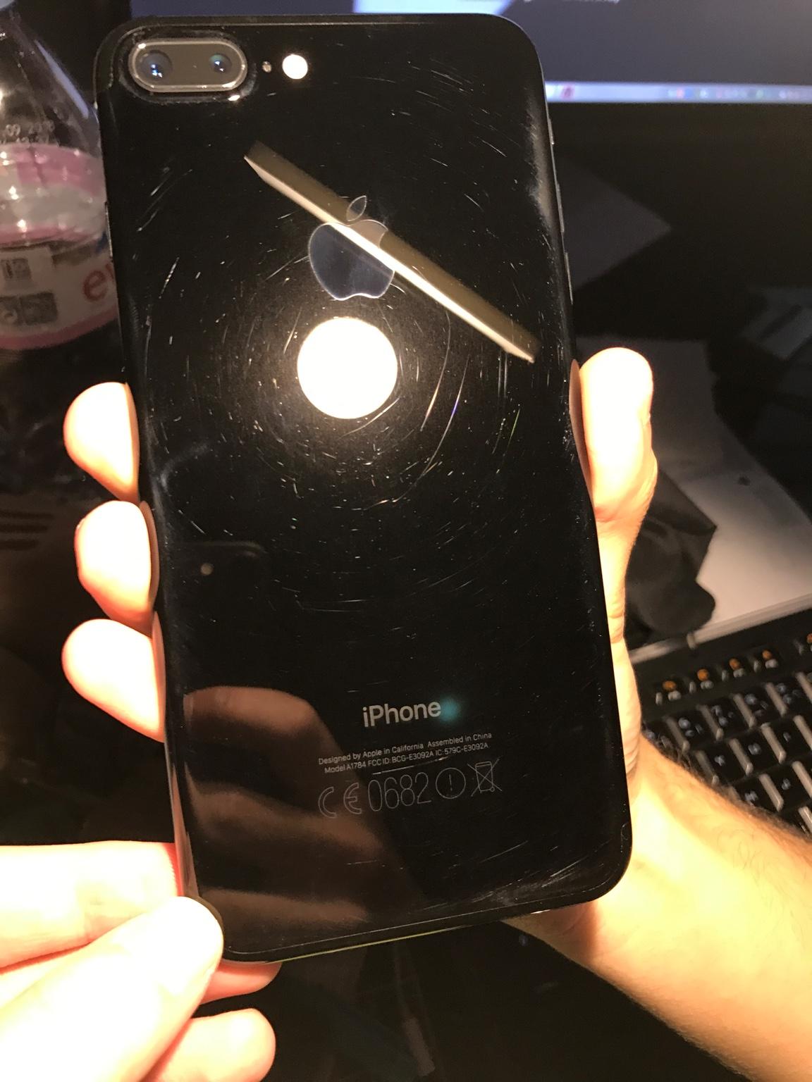 coque noir de jais iphone 7