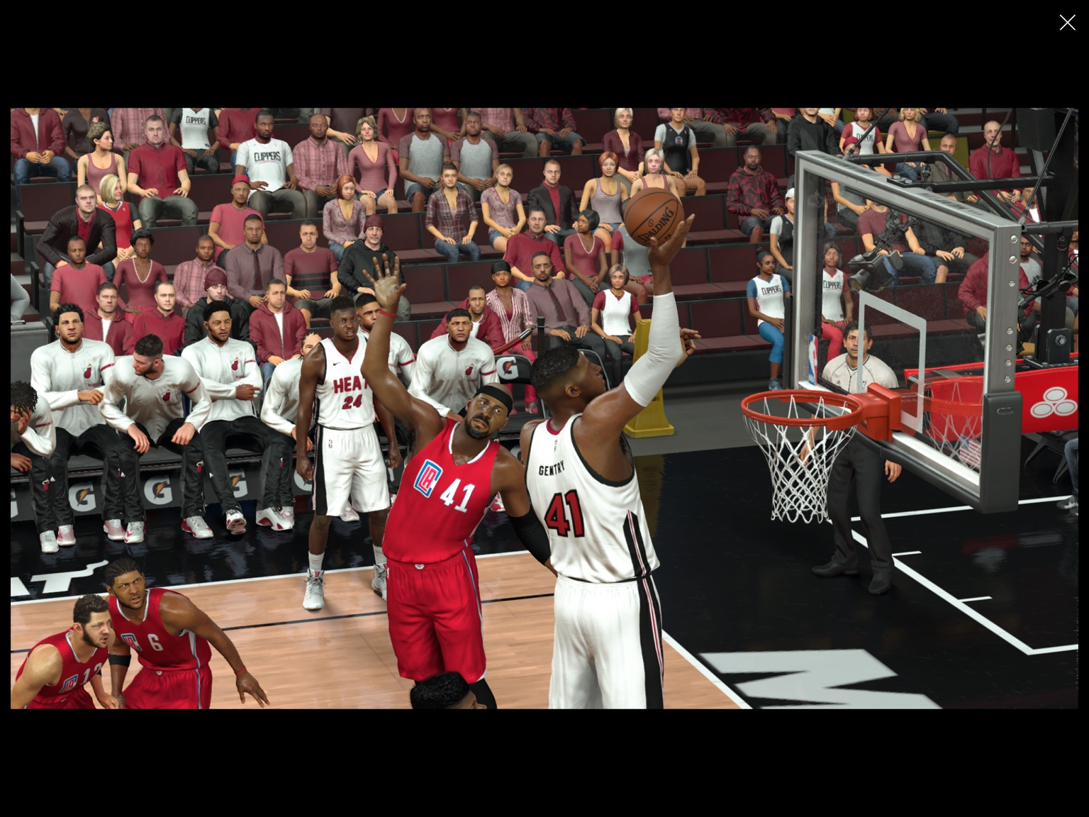 Miami heat lebron jamess vs golden state warriors nba2k17 miami - Career Averages Of 24 Points 13 Rebounds And 2 Blocks Including Back To Back Years Averaging 31 17 2 But Get This He S A 7 7 Center With A 97 Vertical