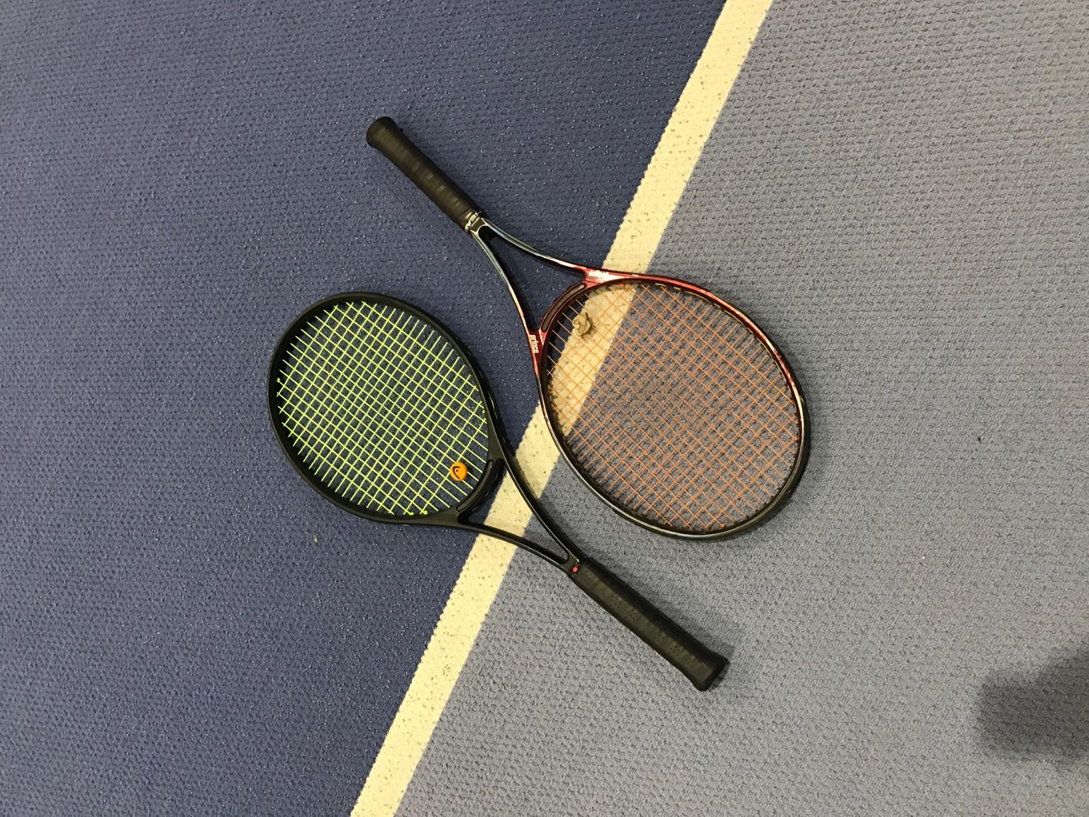 Tennis Bumper Guard : Prince precision response grommets talk tennis