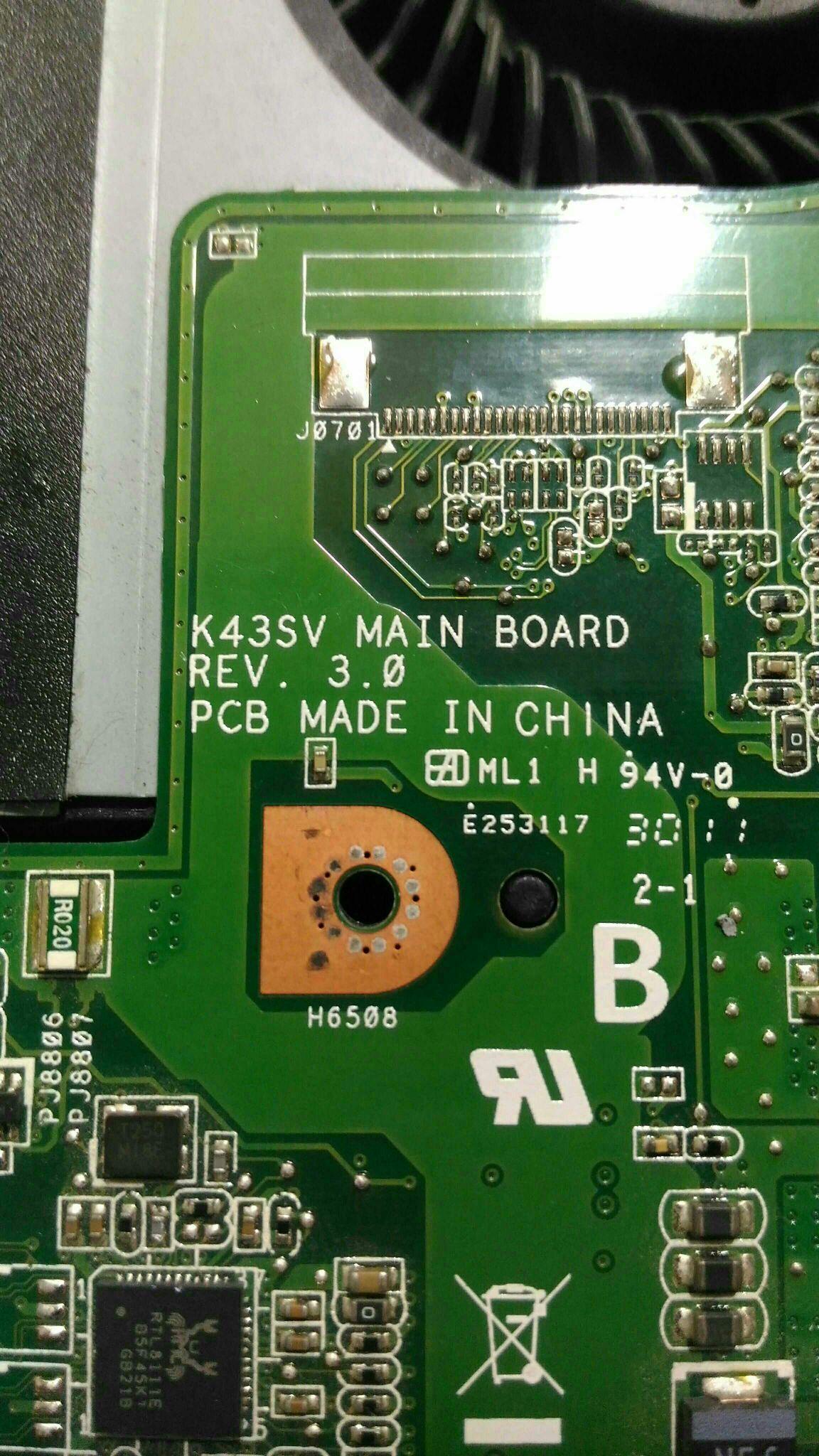 Req schema asus k43sv rev 3 0 | Vinafix com
