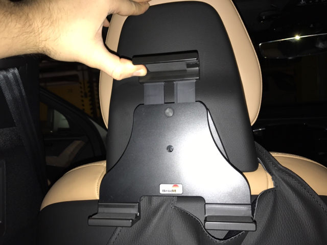 The Ikross Tablet Mount Kit Was Designed To Create A Backseat Entertainment System Without Need For Wiring Tools Or Modifications Headrest