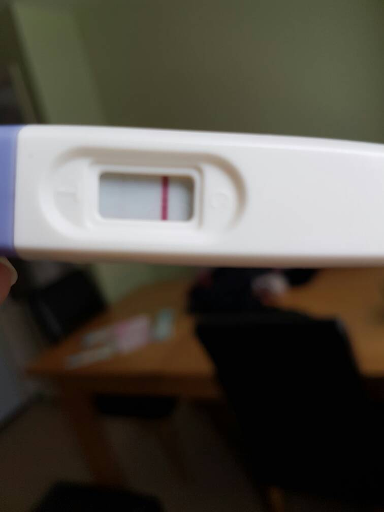 Late period but negative pregnancy test and cramping