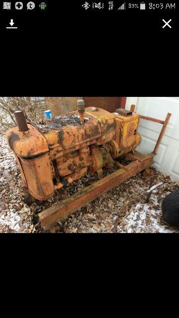Ancient Hobart engine drive welder / Maybe GW-222?