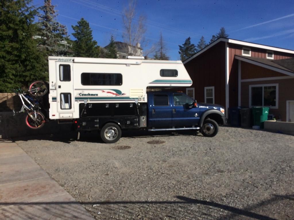 Side Entry Truck Camper For Sale