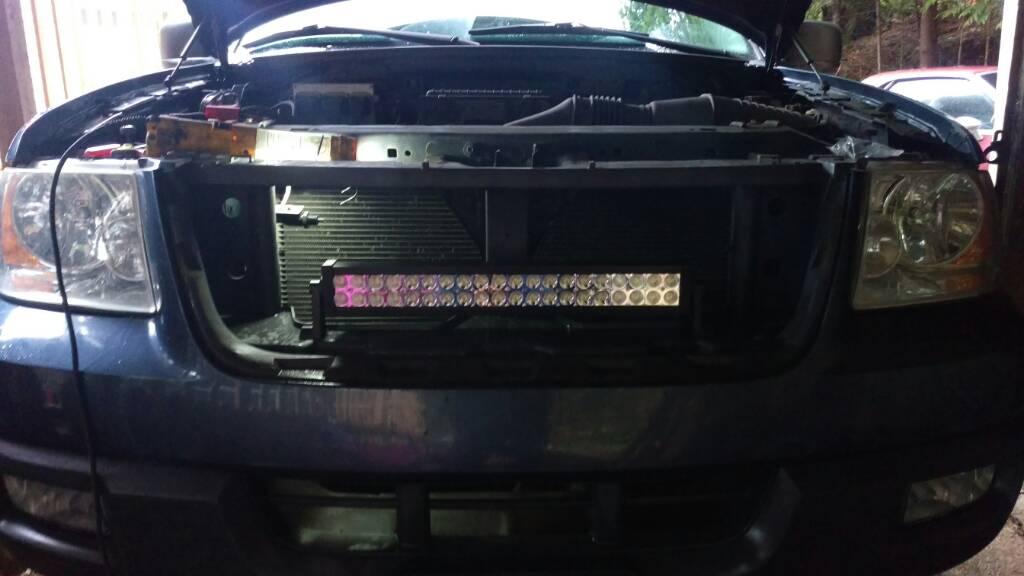 21 U0026quot  Led Light Bar Install