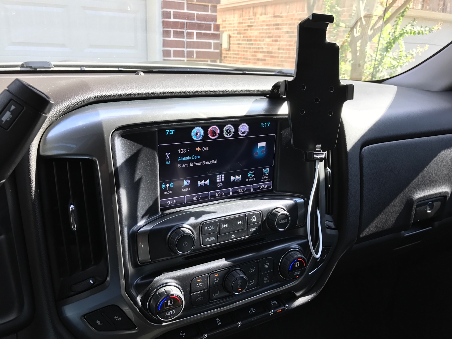 GMC Sierra - Where do you mount your phone? - Page 4 ...