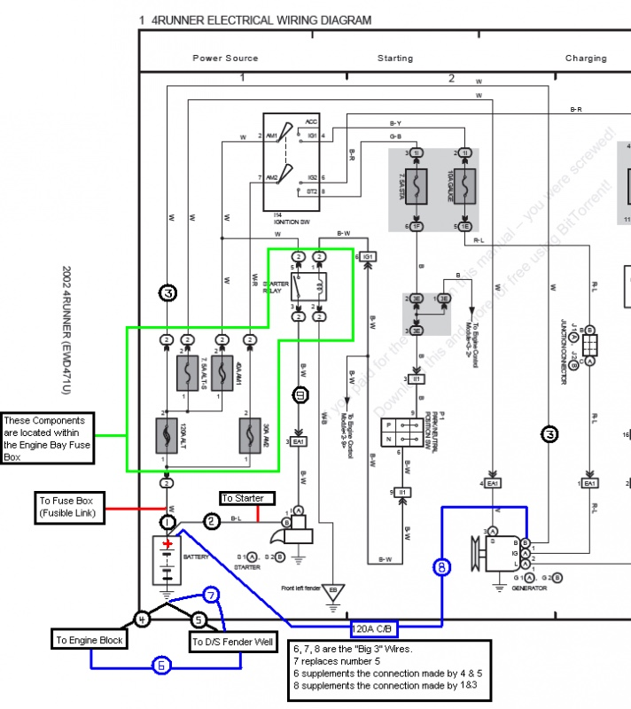battery alternator issue voltage is ok page 5 toyota. Black Bedroom Furniture Sets. Home Design Ideas