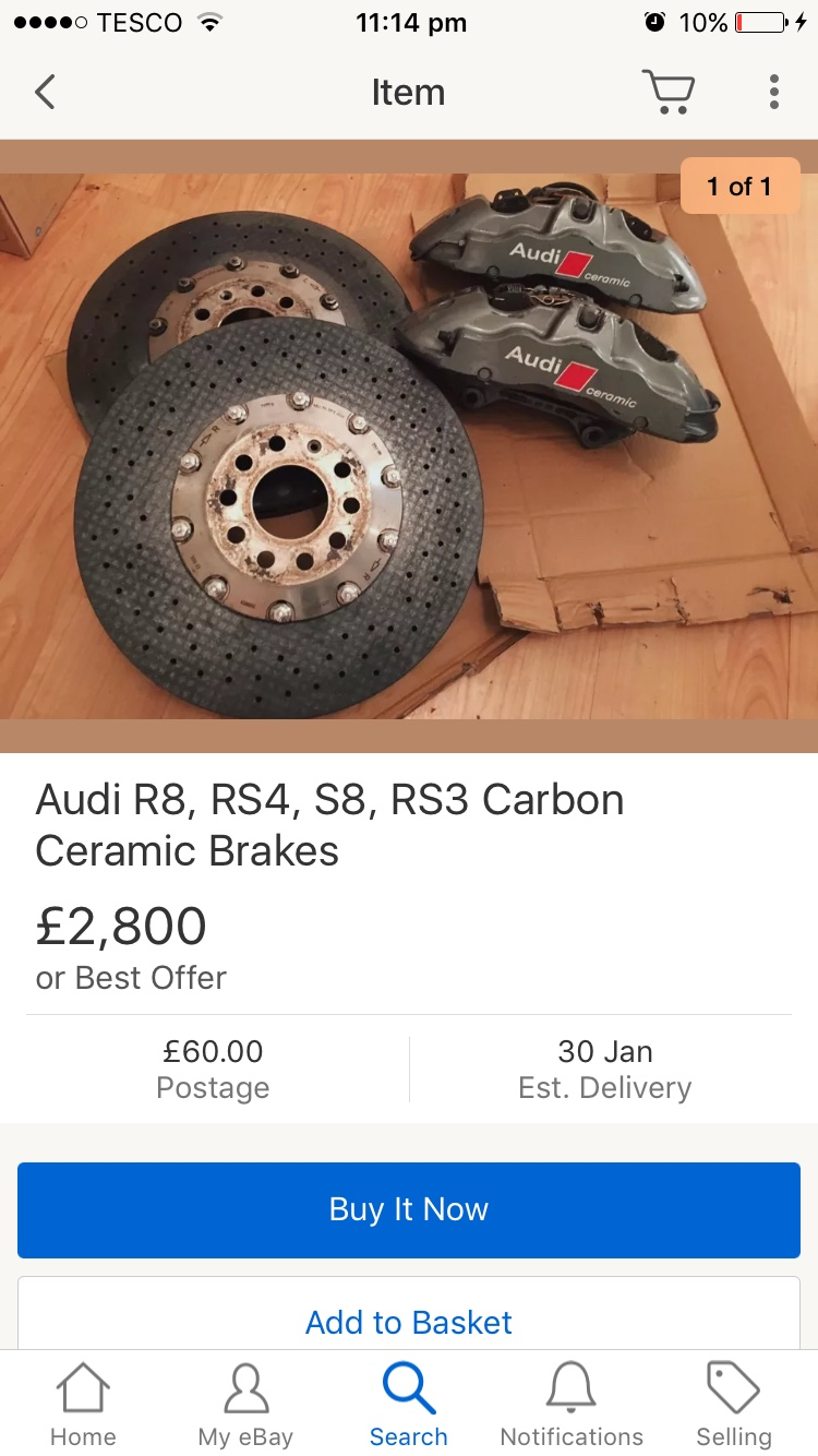 carbon ceramic brakes - Tuning and Modifications - Official