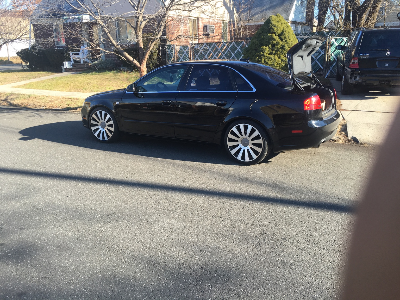 For sale 2006 Audi A4 97k stage 1 tune ,new timing belt and water pump,new  oil pump,no check engine light ,recent nys inspection,no leaks ,H&R  lowering ...