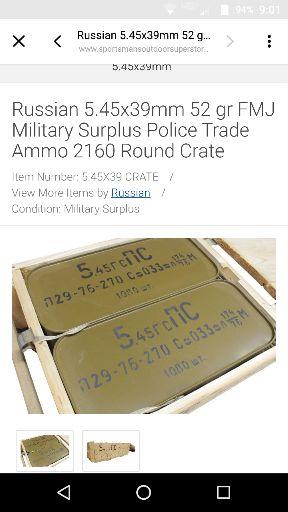 Police Trade Ammo??