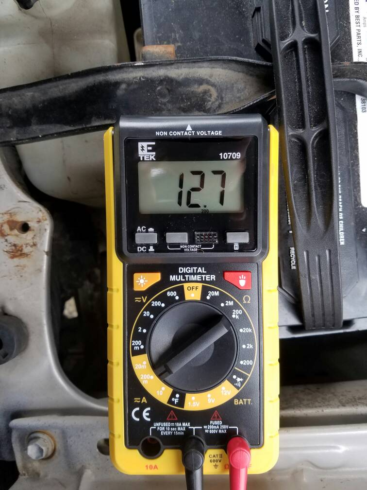dff11ec7911638d2ef75e2176a12a3e7 parasitic draw draining the battery multi meter assist needed  at bakdesigns.co