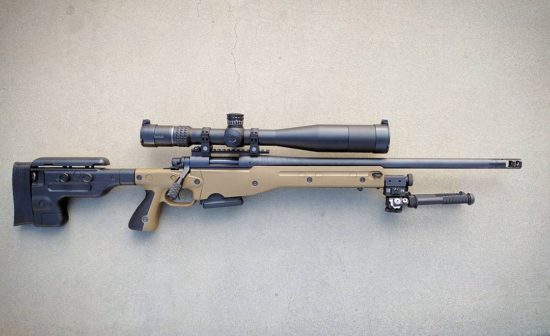 Accuracy International AICS 1 5 Remington 700 stock and