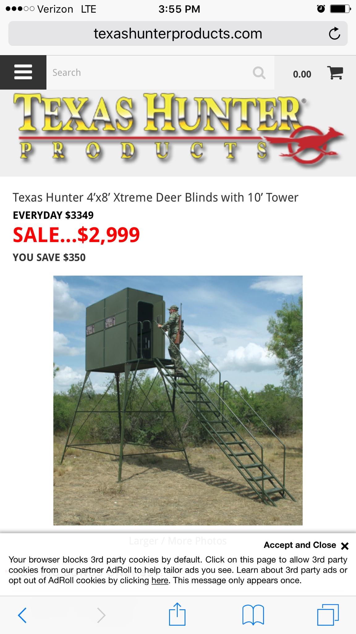 store the blinds texas deer pp co in door sale blind just doors original window x for theoriginaldeerblindwindowco