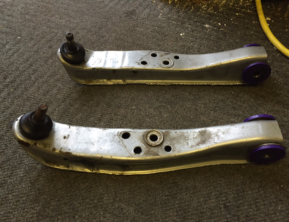 Nissan S13/14/15 30mm extended front lower control arms with