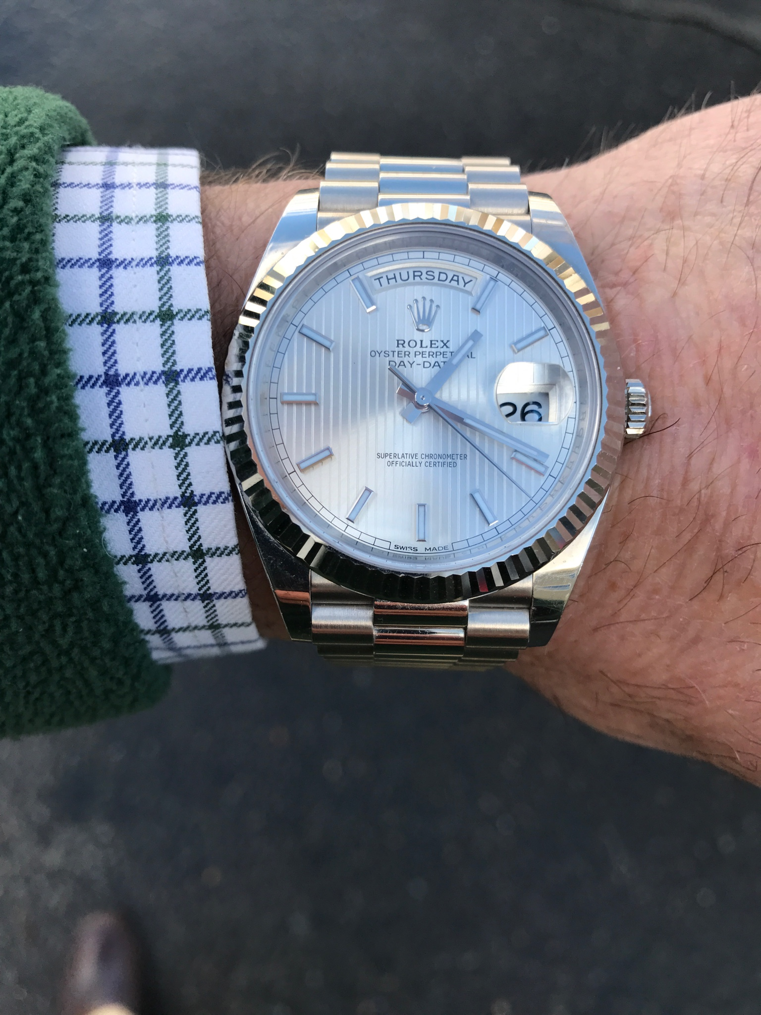 Questions On Day Date 228239 Owners Rolex Forums Rolex Watch Forum