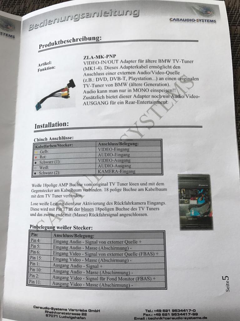 E83 Videomodul nachgerüstet - CID schwarz [Archiv] - BMW X3 FORUM