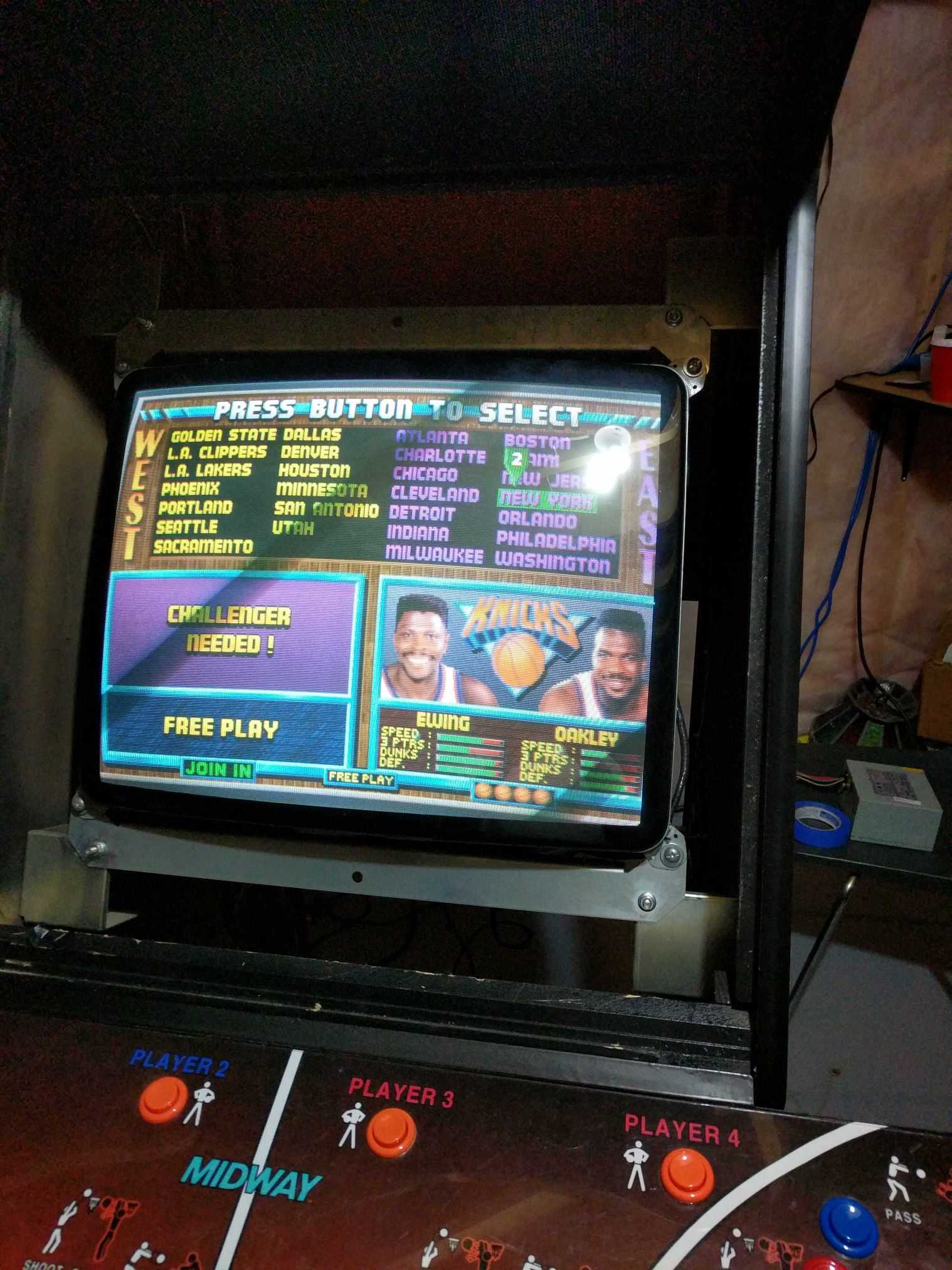 Midway cabinet partial resto. - KLOV/VAPS Coin-op Videogame ...