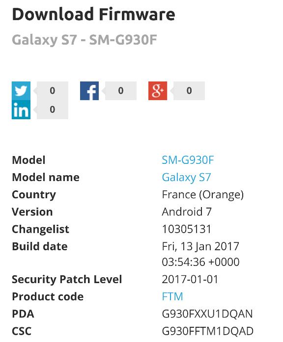 G930f Firmware