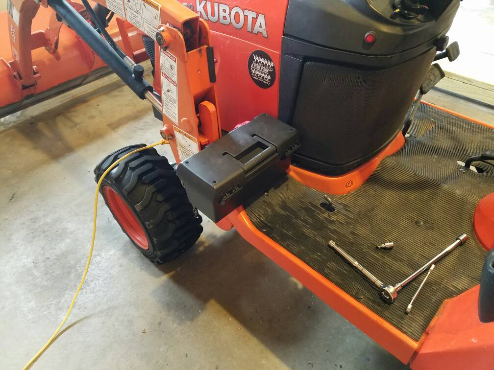 Kubota Tractor Tool Box : All the tool boxes posts got me itchin