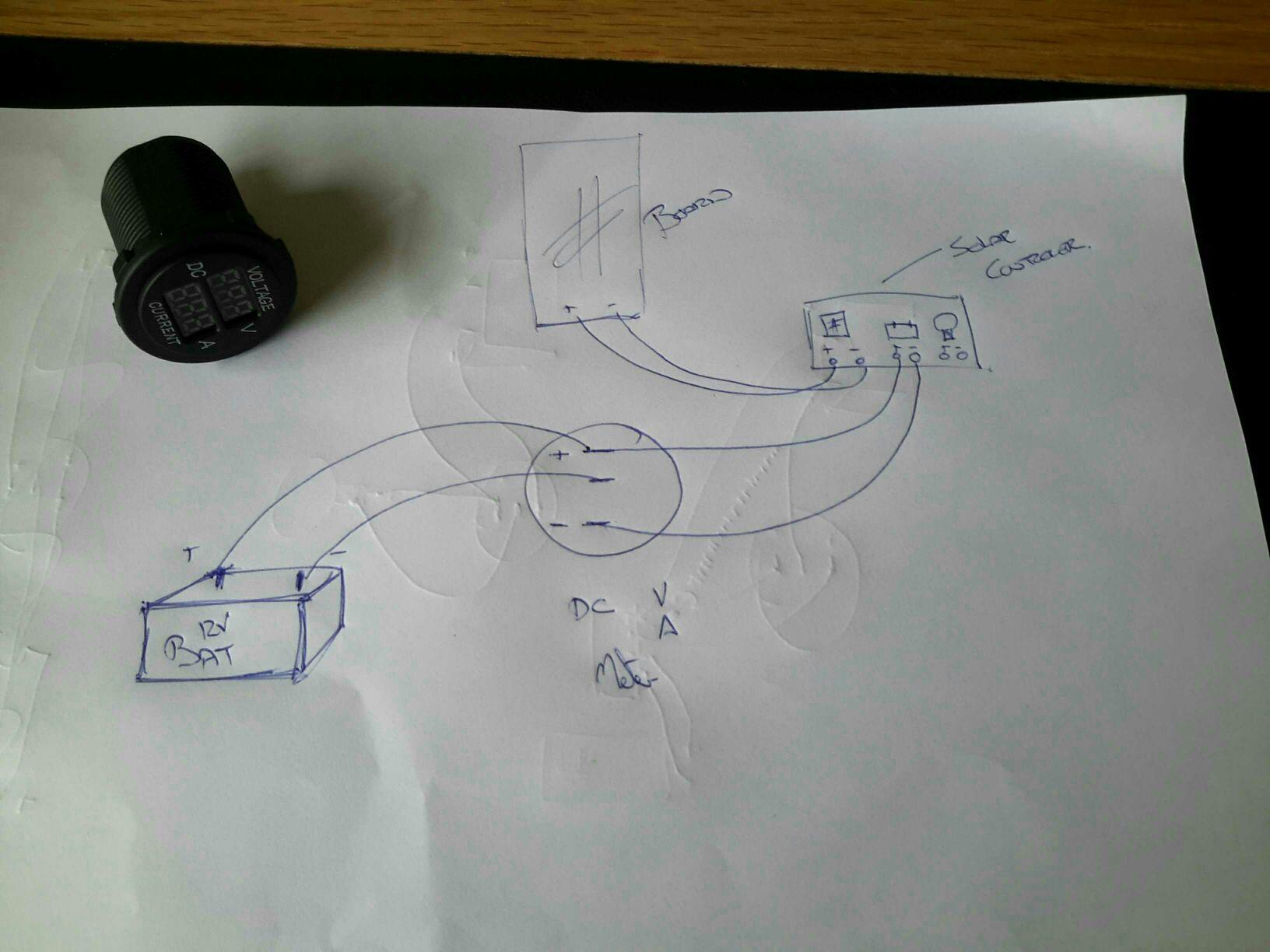 Help Please Volt  Amp Meter Wiring Diagram