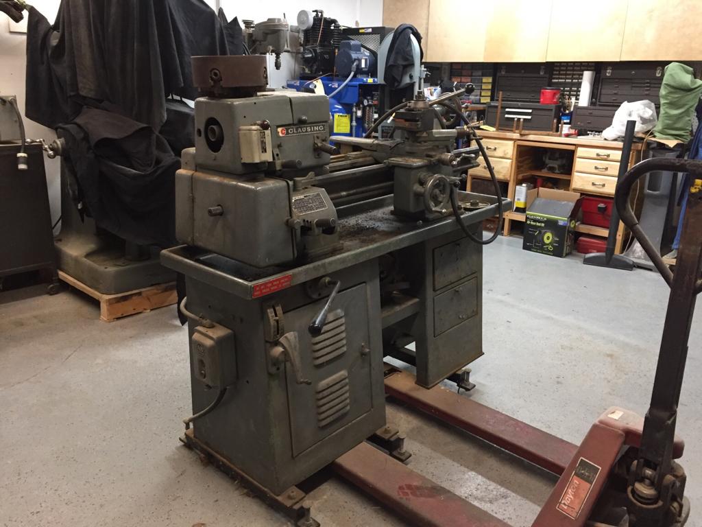 Clausing 5400 Lathe Restoration - The Garage Journal Board