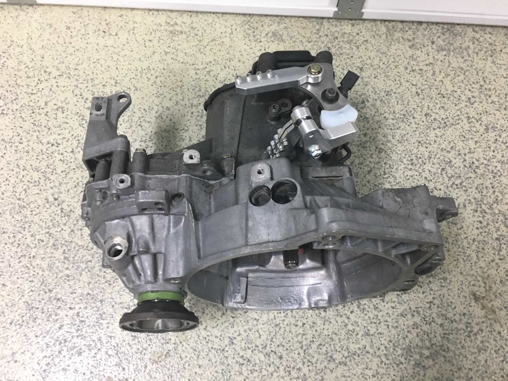 Vwvortexcom 36 24v Vr6 Swap Questions Links Jetta Engine Diagram Stock 12v Flywheel With Arp Bolts I Used A Mk4 02j Starter