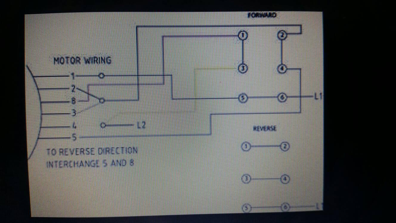 Finally Bought A Drum Switch And Need Help Wiring Monarch Lathe Diagram Sent From My Samsung Sm G900a Using Tapatalk