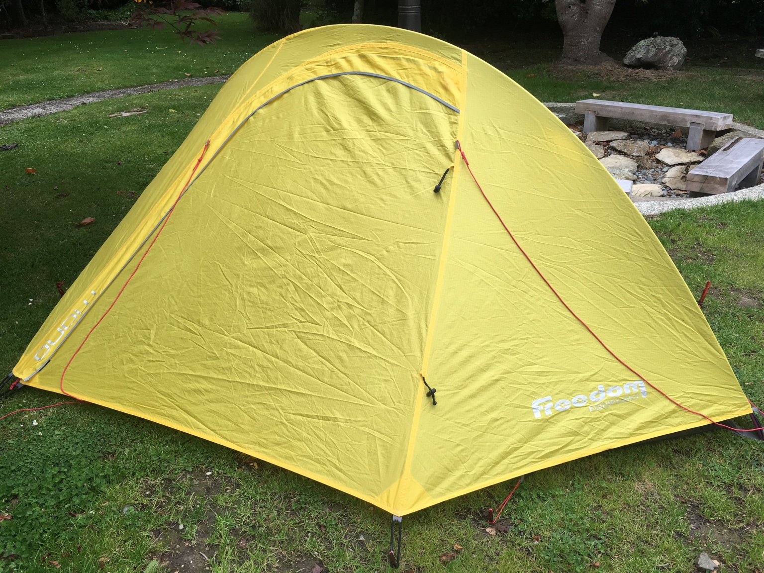 Also got an older Kathmandu Cisalpine 2 man tent which is in very good condition apart from a very small hole in one corner of the mesh from a mouse chewing ... & FS: 1-man and 2-man tents FS