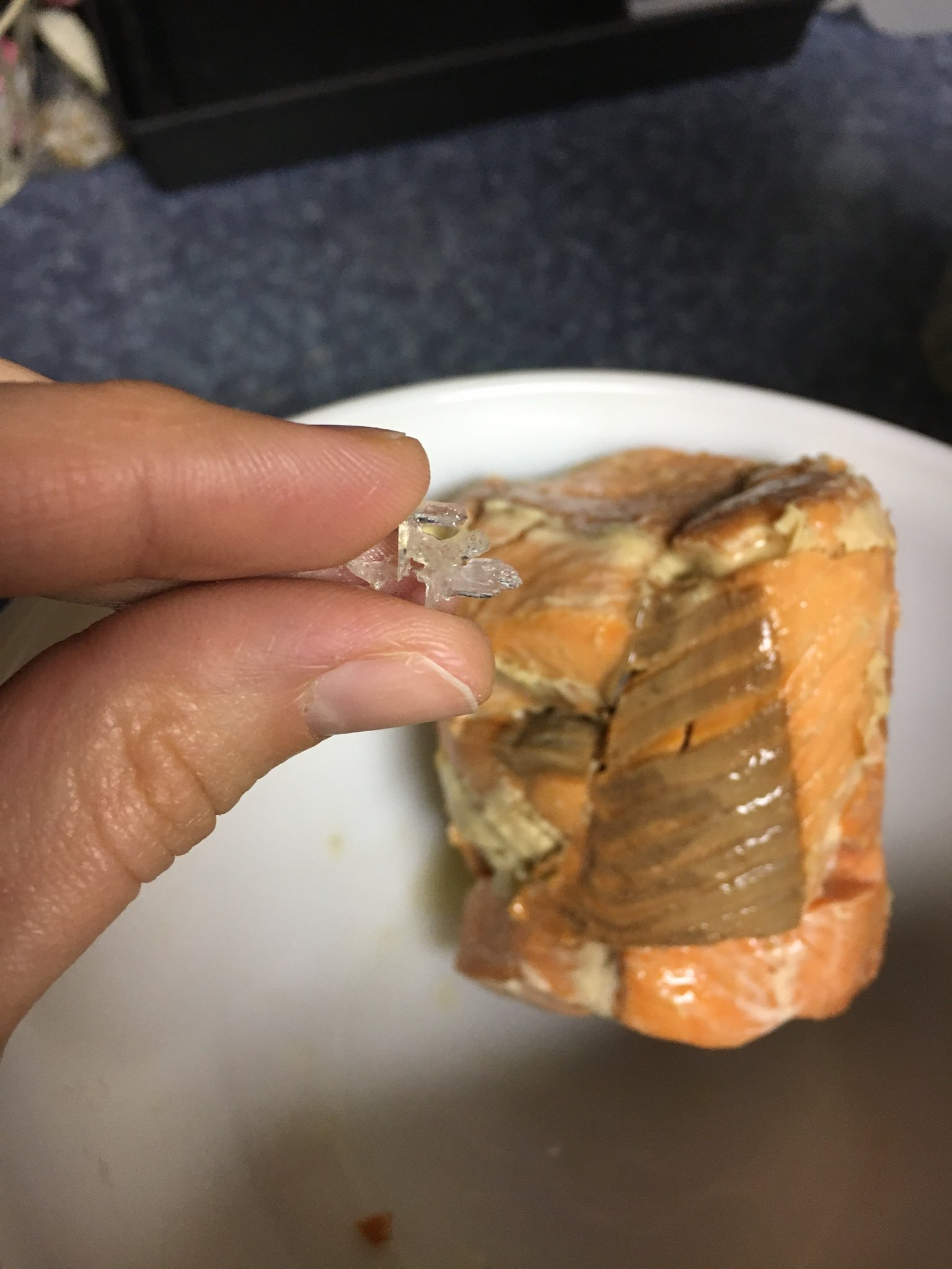 how to get bones out of canned salmon