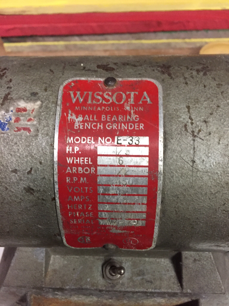 Pleasant The Unofficial Wissota Grinder Thread The Garage Journal Board Ibusinesslaw Wood Chair Design Ideas Ibusinesslaworg