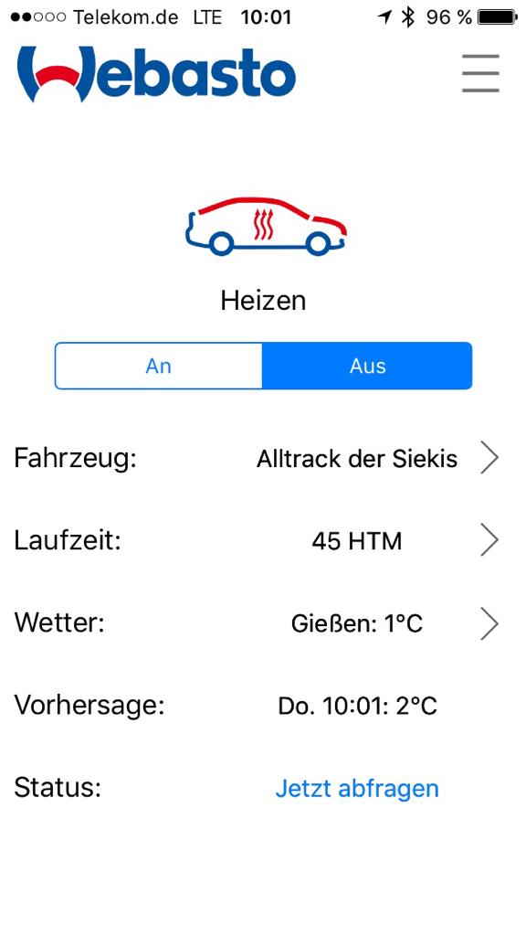 F25 Motor-Vorwärmung oder Standheizung zur Verschleißreduzierung ...