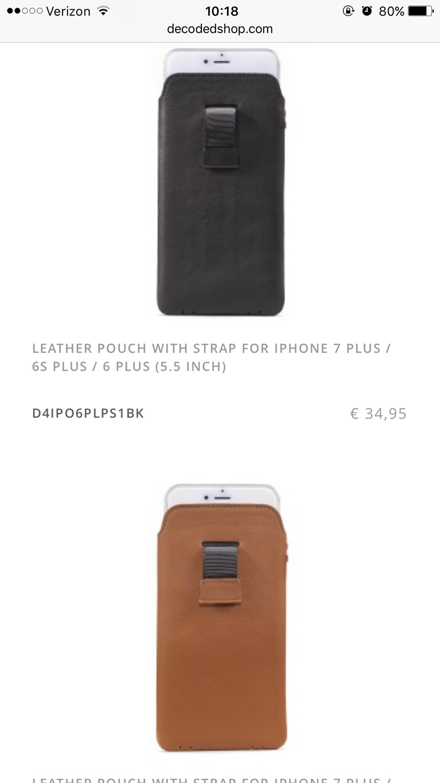 low cost ab482 93fbb Best Leather Pouch? - iPhone, iPad, iPod Forums at iMore.com