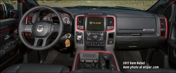 What Is The Ram Rebel S Red Interior Trim Color Called